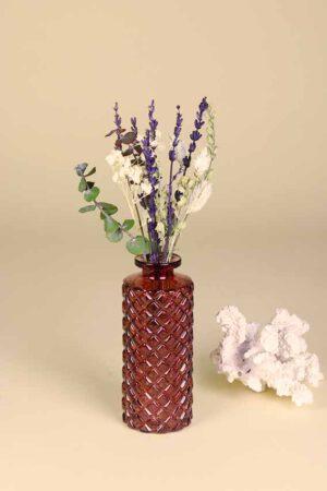 klein vaasje droogbloemen mini provence