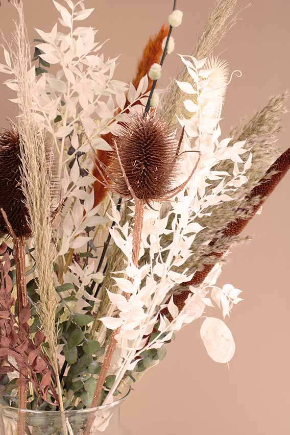 droogboeket lobby close up