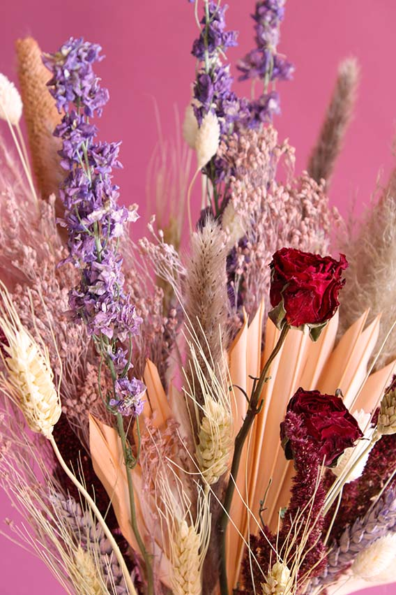 droogboeket brave love closeup