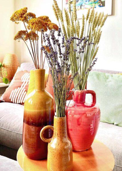 hoe houd je droogbloemen lang mooi