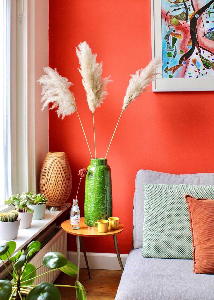 pluimen als decoratie